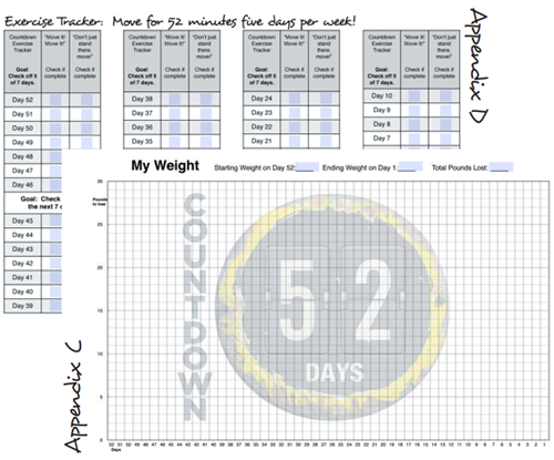 exercise and weight tracker bundle